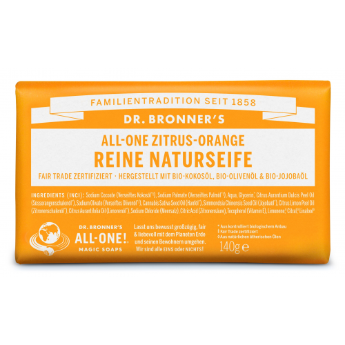 Dr. Bronner Seife Zitrus Orange