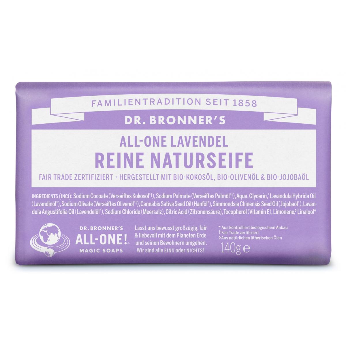 Dr. Bronner Seife Lavendel