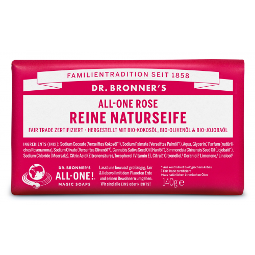 Dr. Bronner Seife Rose