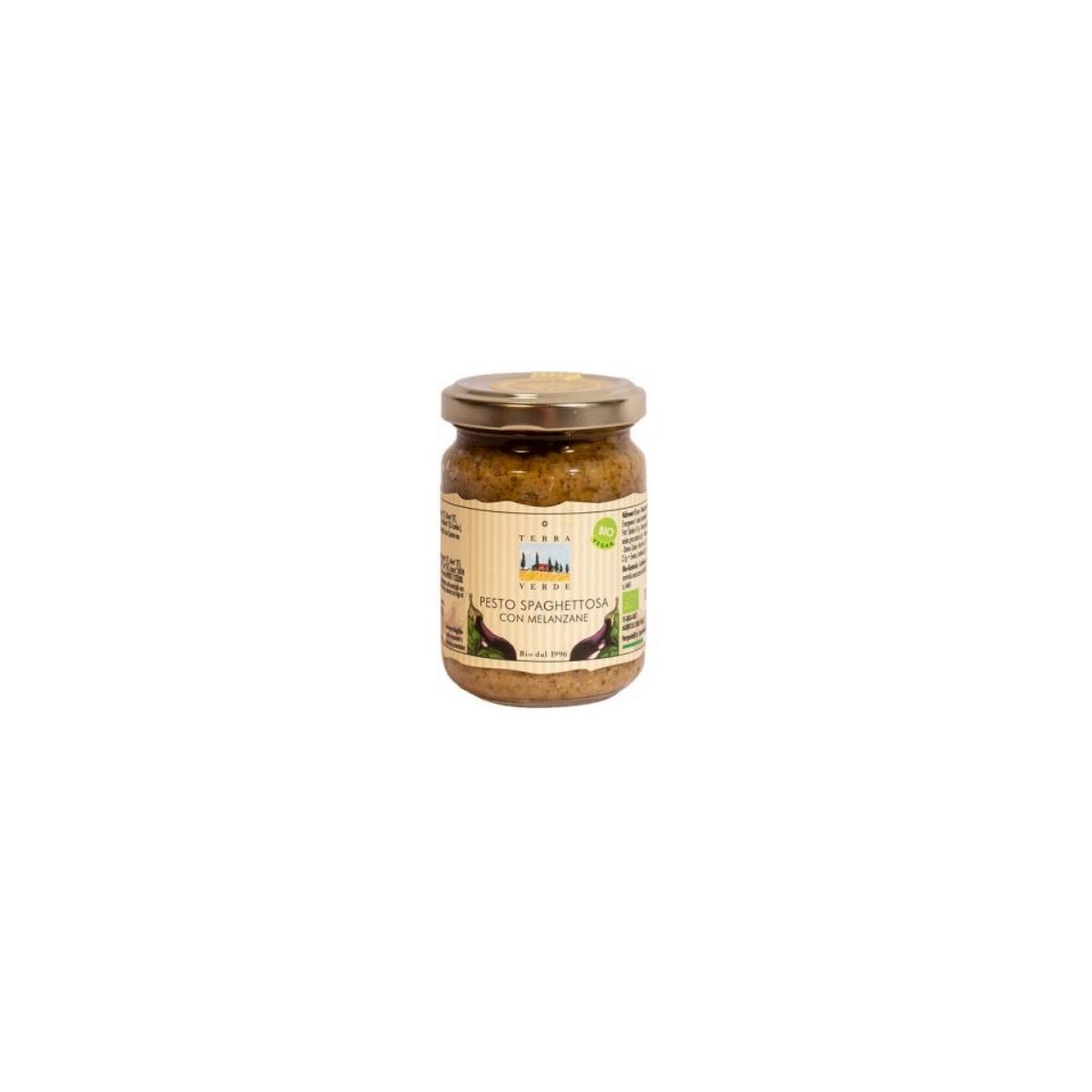 Pesto Spaghettosa Auberginenpaste
