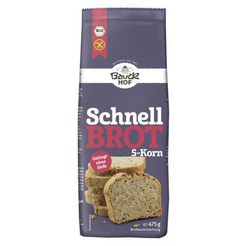 Bio Schnellbrot 5-Korn glutenfrei