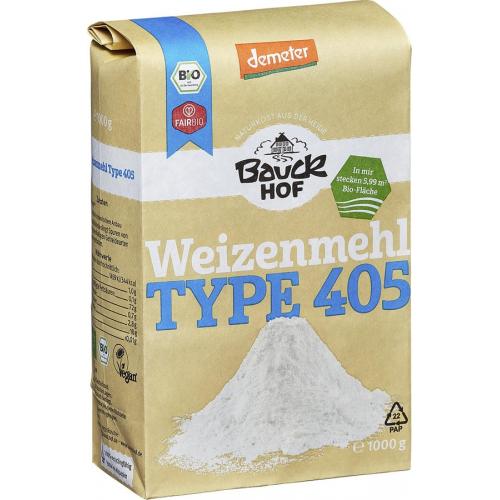 Weissmehl Weizen Type 405