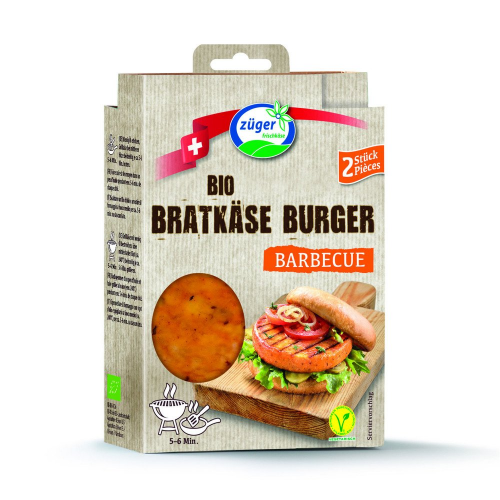 Bratkäse Burger Barbecue 2x90g