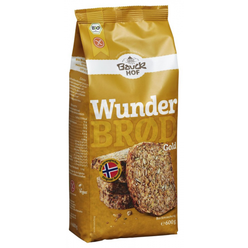 Bio Wunderbrot Gold Bauck glutenfrei