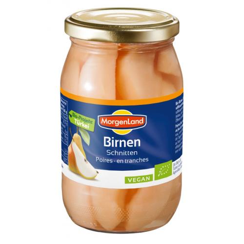 Bio Birnen Schnitze
