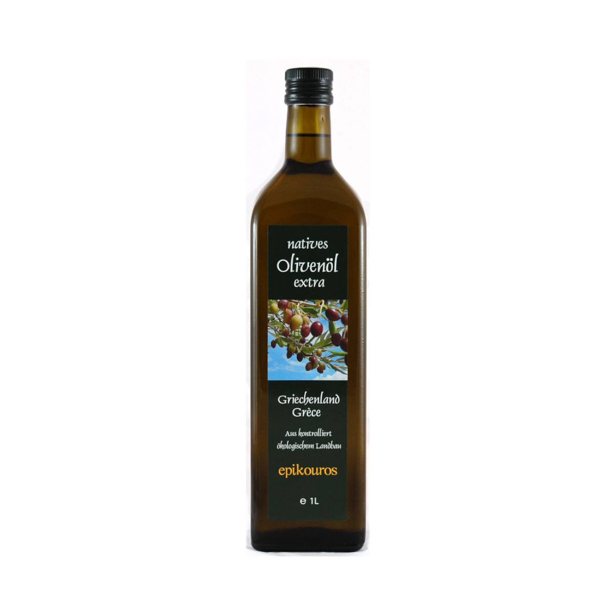 Bio Olivenöl extra nativ Griechenland 1lt