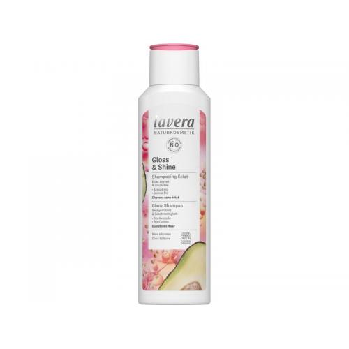 Shampoo Glanz & Schwung Flasche 250 ml/Plastik Einweg - Lavera