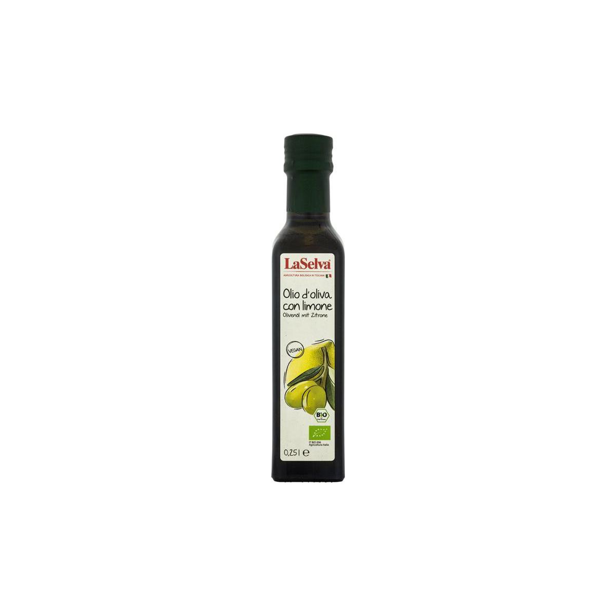 Bio Olivenöl mit Zitronen