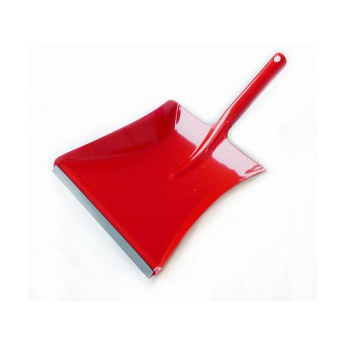 Kehrschaufel Metall mit Gummilippe