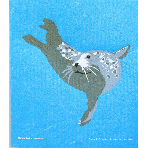 Oeko-Schwammtuch Seehund