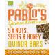 Pablos Quinoa Riegel Nüsse Kerne Honig