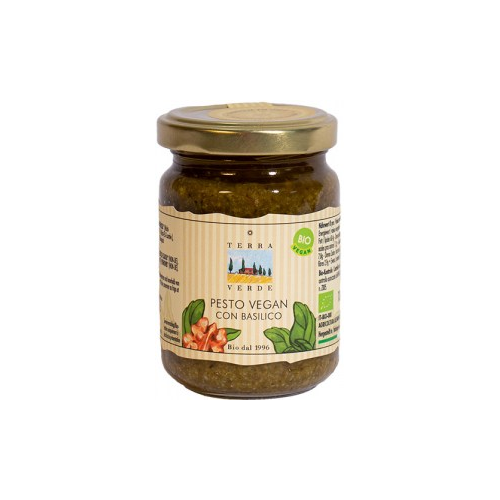 Pesto vegan con basilico
