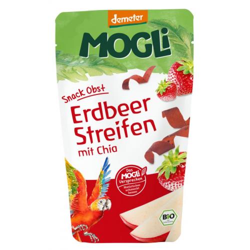 Fruchtstreifen Erdbeer mit Chia Mogli
