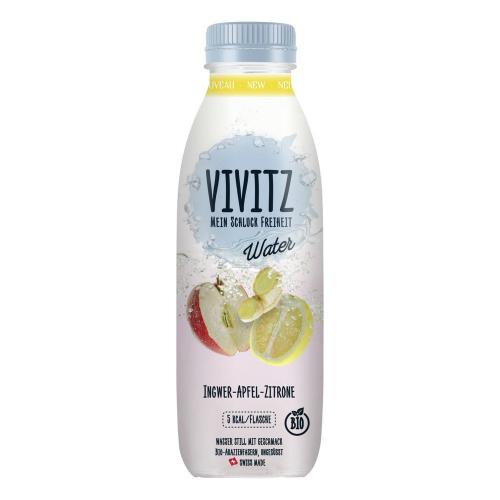 Vivitz Water - Ingwer, Apfel, Zitrone