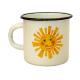 Emaille Häferl Sonnentor einzeln
