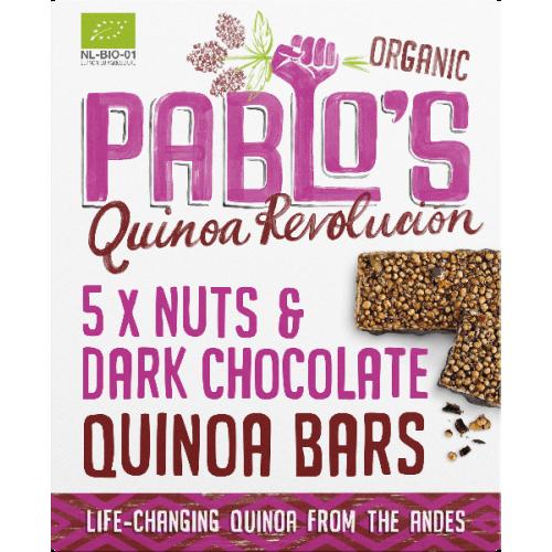Pablos Quinoa Riegel Nuss-Schokolade