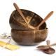 Kokos-Schalen Set