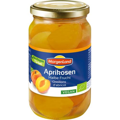 Bio Aprikosenhälften
