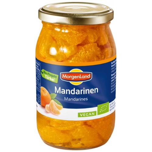 Bio Mandarinenschnitze eingemacht