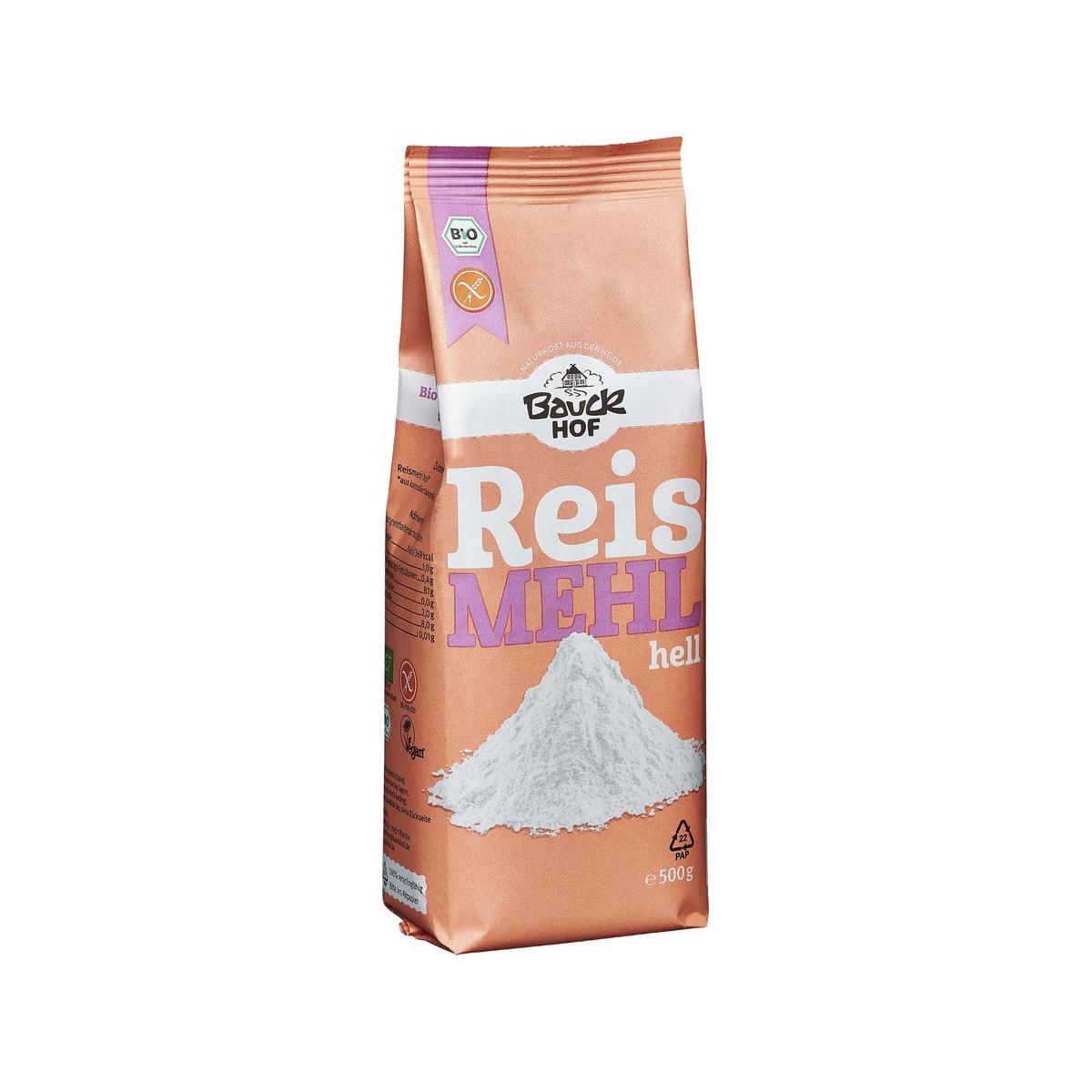 Bio Reismehl Hell glutenfrei Bauck