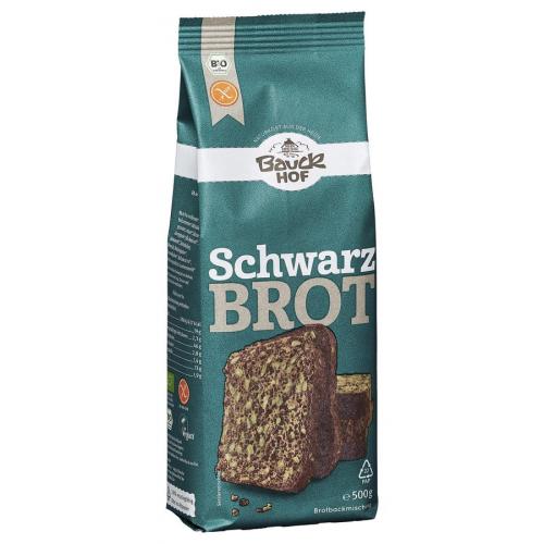 Bio Schwarzbrot Bauck glutenfrei