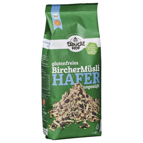 Bauck Bio Hafermüesli Birchger glutenfrei