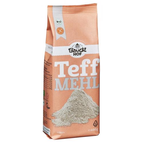 Bio Teffmehl glutenfrei Bauck