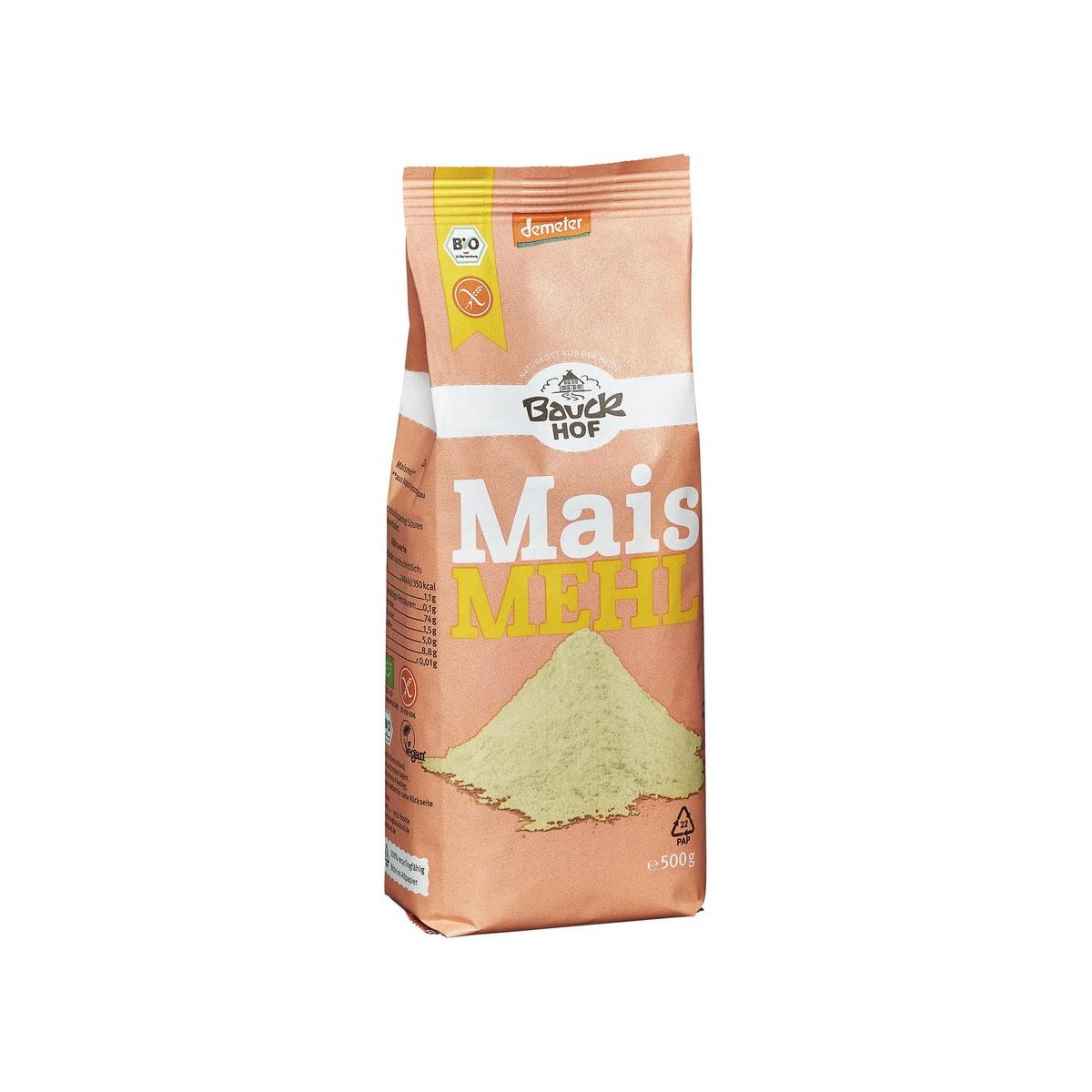 Bauck Maismehl glutenfrei