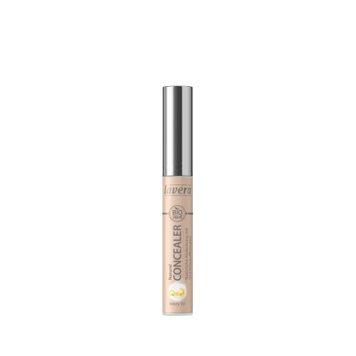 Natural Concealer -Ivory 01- Flasche 5.5 ml/Plastik Einweg - Lavera