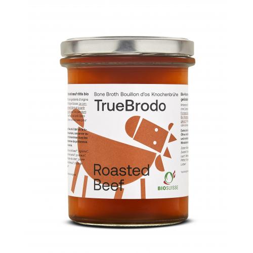 Bio Roasted Beef Broth Knochenbouillon