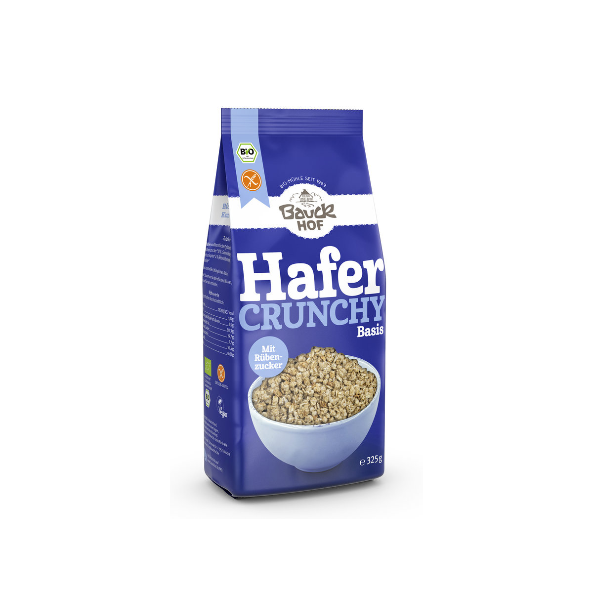 Hafer Crunchy Basis glutenfrei