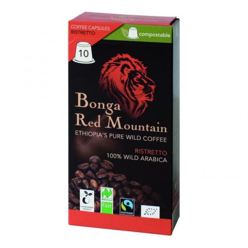 Kaffee Kapseln Ristretto Bonga Red Mountain