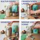 Joghurtkulturen vegan Prozess