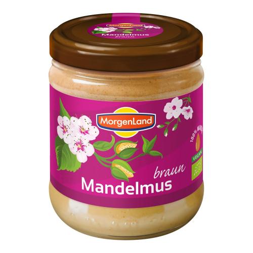 Bio Mandelmus braun 500 g