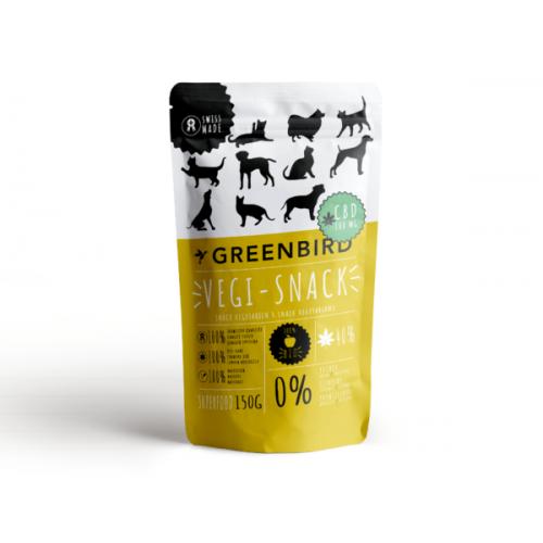 Greenbird Tiersnack Vegi-Snack + CBD