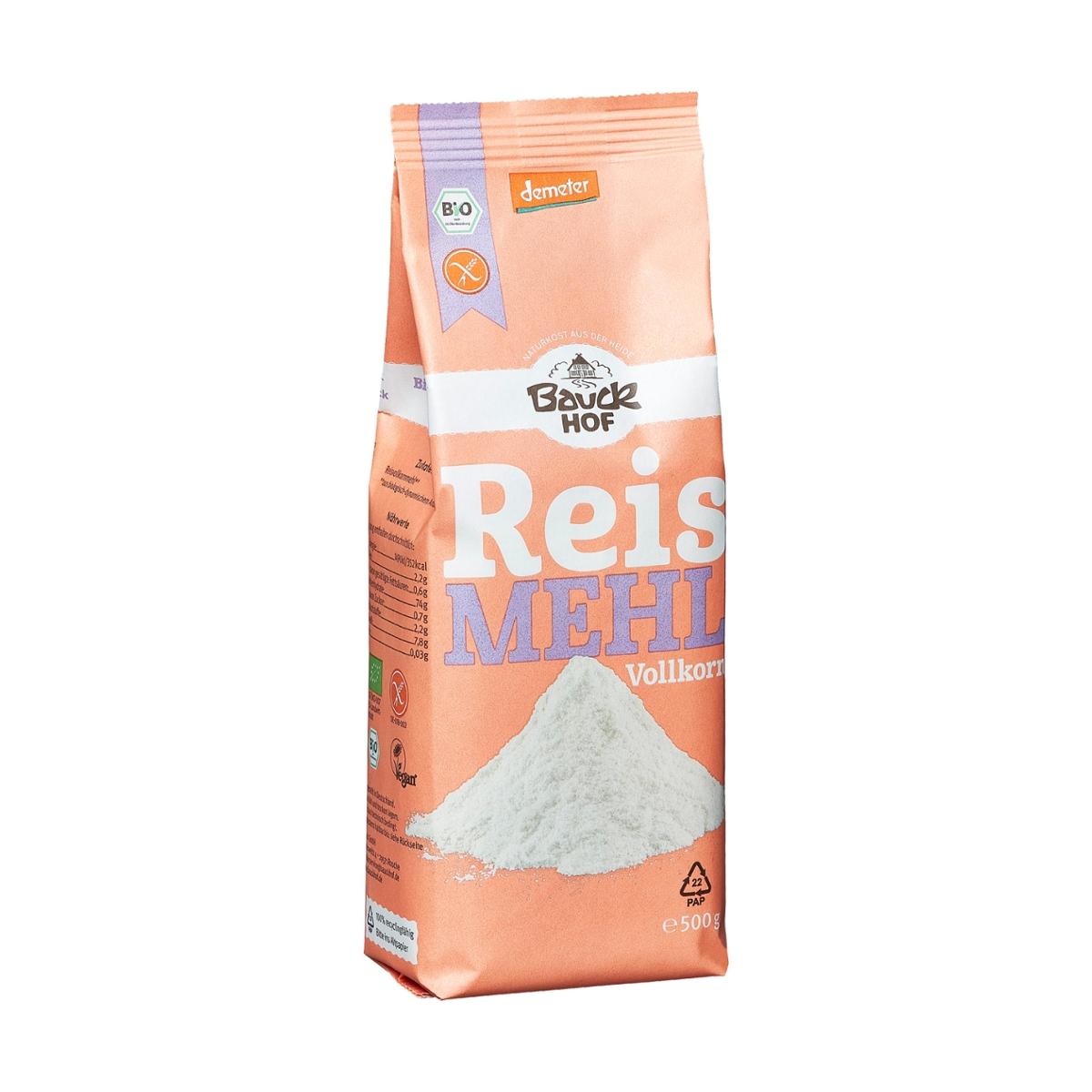 Reismehl glutenfrei Bauckhof