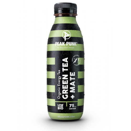 PEAK PUNK Energy Green Tea Mate