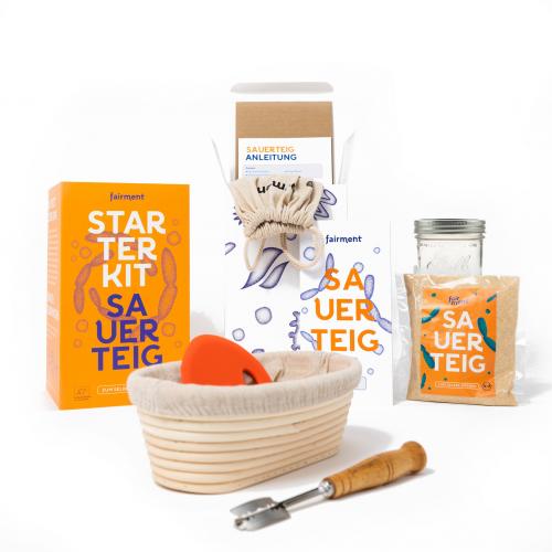 Sauerteig Starter Kit mit aktivem Sauerteig