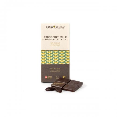 Kokosmilch Schokolade 50 g bean to bar