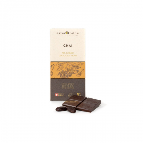 Chai Schokolade 73% Kakao 50 g bean to bar