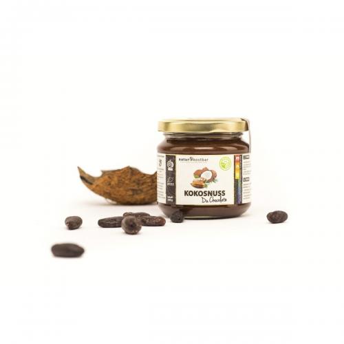 Kokosnuss du Chocolate Gourmet-Aufstrich