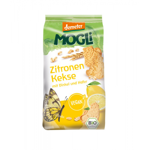 Zitronen-Kekse Dinkel & Hafer