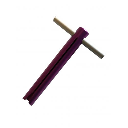 Tubenschlüssel mittel - Violett