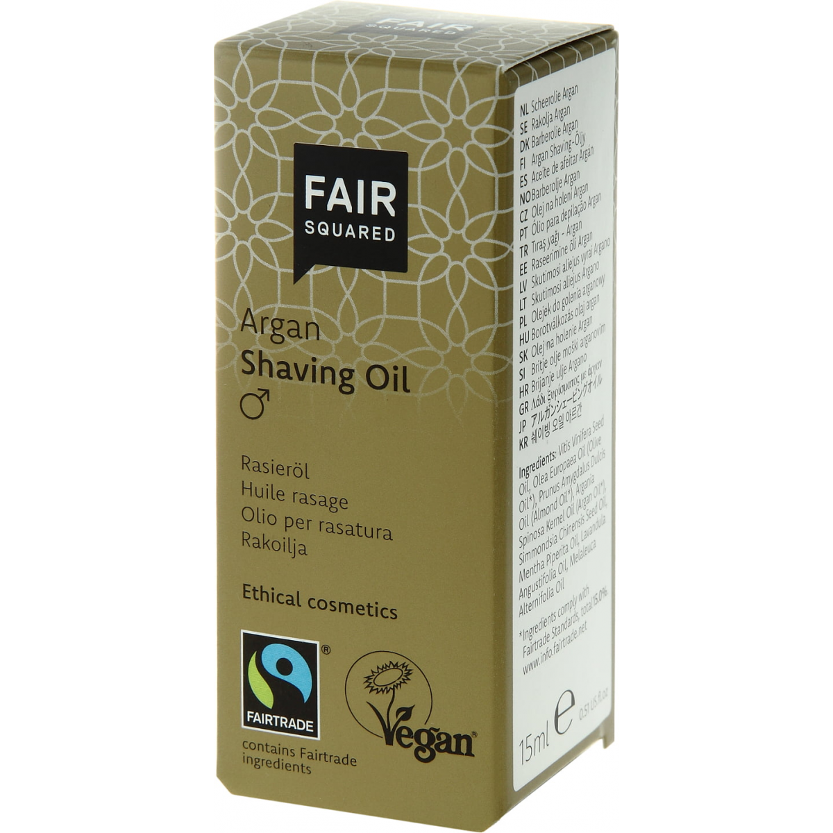 Shaving Oil Men Argan