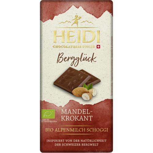 Heidi Bio Schokolade Vollmilch Mandelkrokant