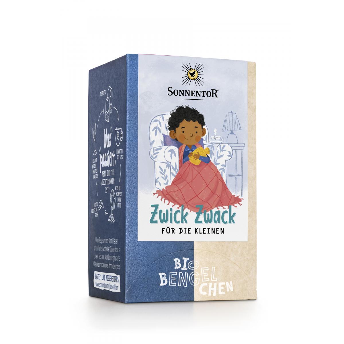 Zwick Zwack für die Kleinen Tee Bio-Bengelchen