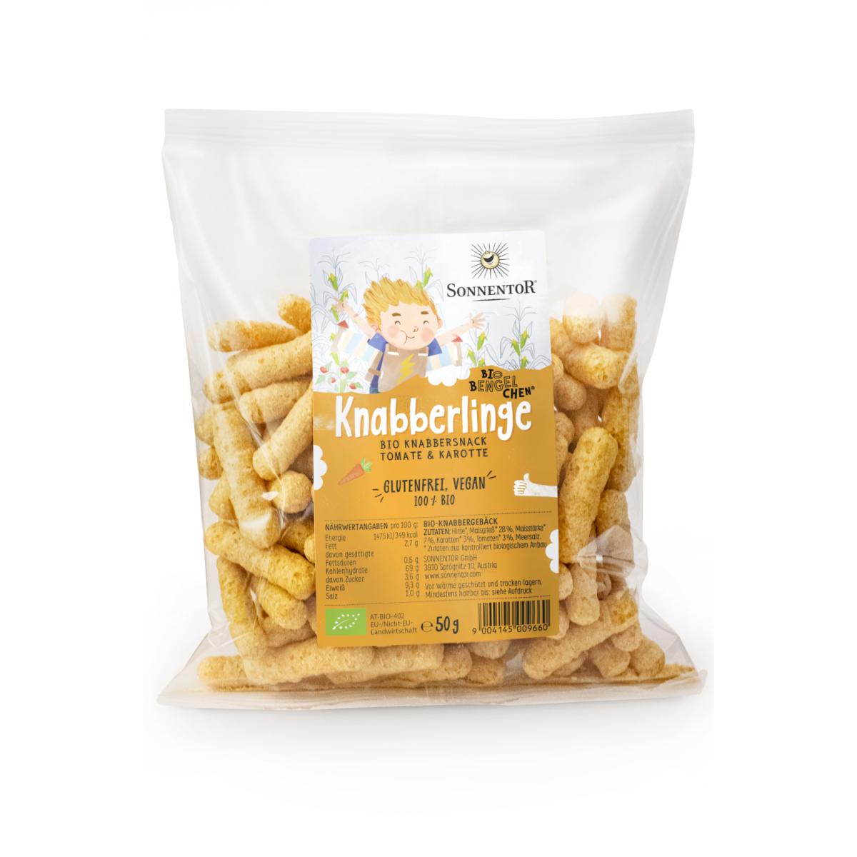 Knabberlinge Snack Bio-Bengelchen