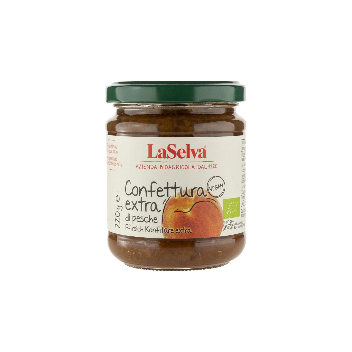 Pfirsich-Konfitüre Extra
