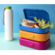 ajaa! Sandwichbox, Farbe blue Clipverschluss