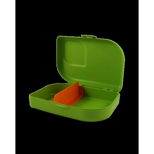 ajaa! Sandwichbox, Farbe lime , Clipverschluss